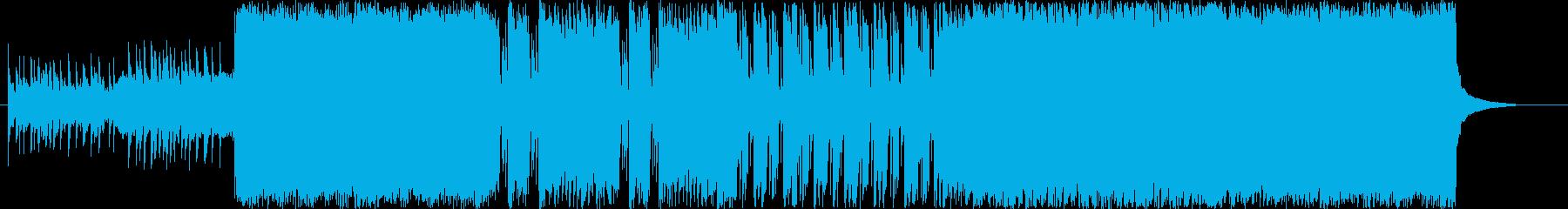 短縮ver哀愁漂うアナログ和風ロックの再生済みの波形