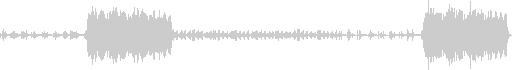 秋をイメージした感傷的なピアノインストの未再生の波形