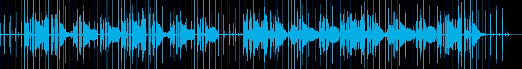 ローファイ・ギター・チル・落ち着いたの再生済みの波形