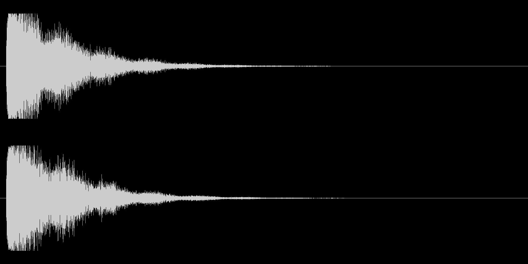 レーザー音-21-2の未再生の波形