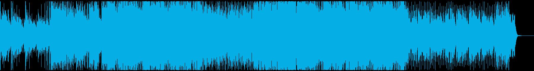 キラキラしたピアノ主の綺麗なポップスの再生済みの波形