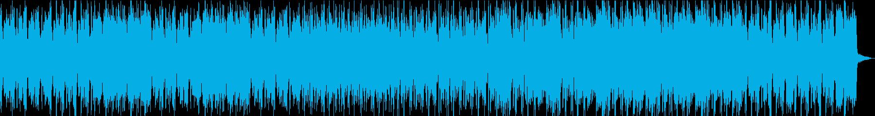 ハードボイルドな雰囲気の粋なビッグバンドの再生済みの波形