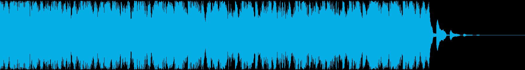 【EDM】トランス、ショート6の再生済みの波形
