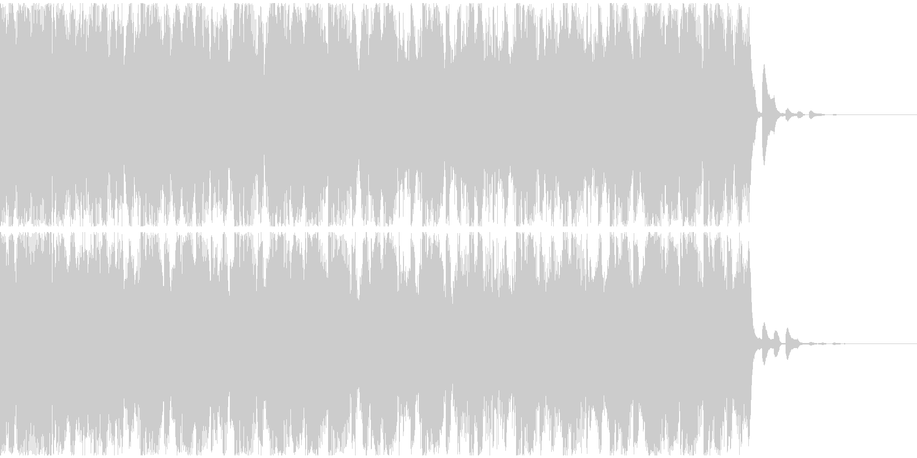 【EDM】トランス、ショート6の未再生の波形