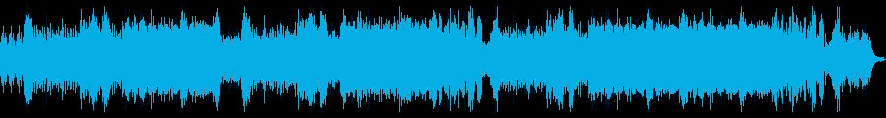 ピアノソロによる戦闘用BGMの再生済みの波形