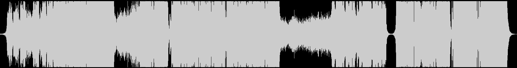 ファンタジーなEDMハードスタイルの未再生の波形