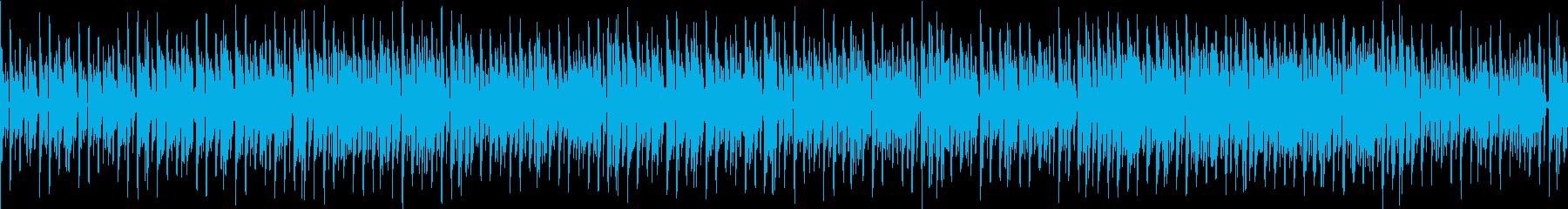 ファンキーな日常の再生済みの波形