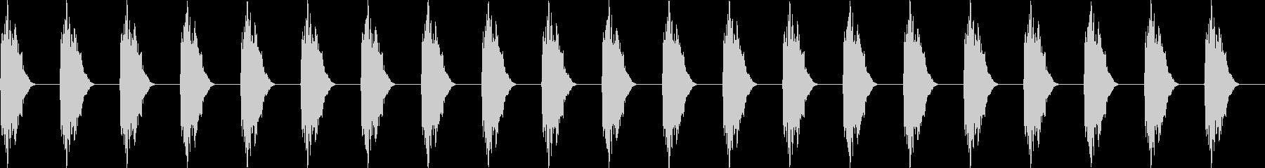 電子ミュートされた金属Pingin...の未再生の波形