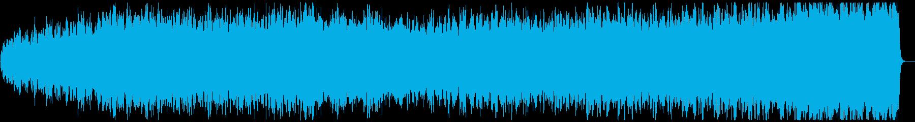 ストリングスによるパッヘルベルのカノンの再生済みの波形