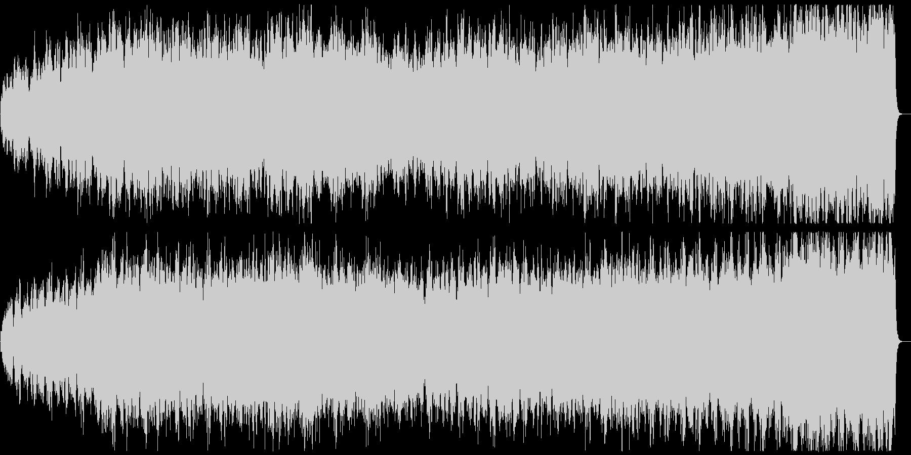 ストリングスによるパッヘルベルのカノンの未再生の波形