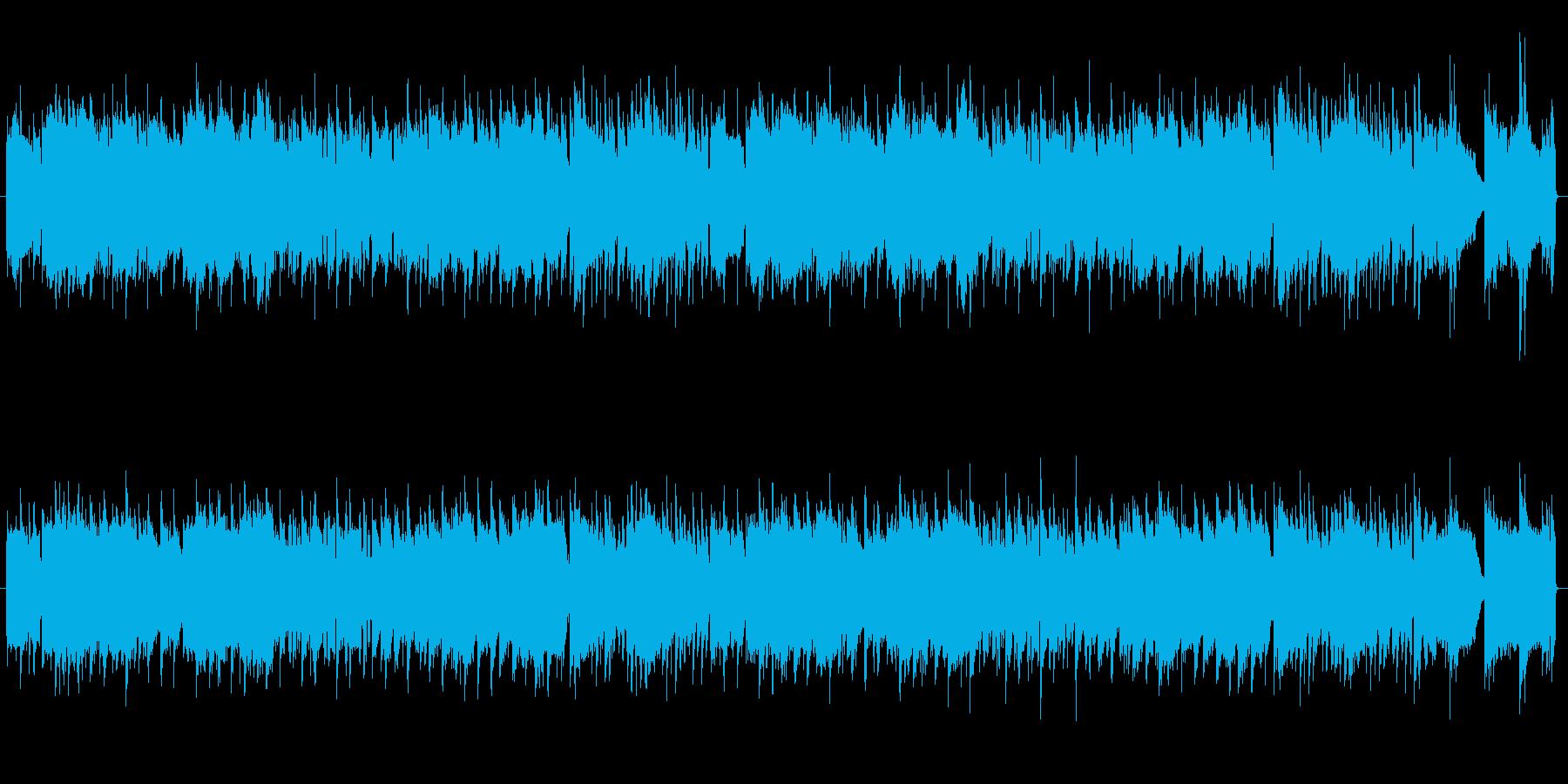 オリエンタルな雰囲気をイメージした曲ですの再生済みの波形