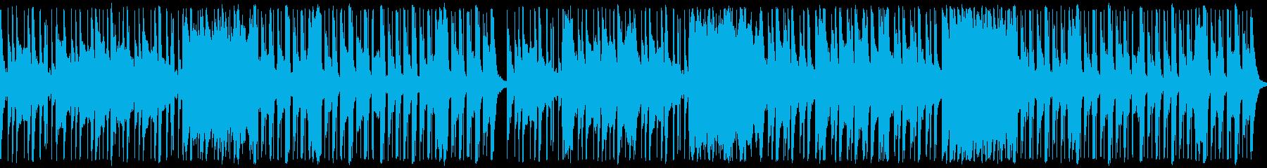 ハロウィン向け、ちょっとお間抜けホラーの再生済みの波形