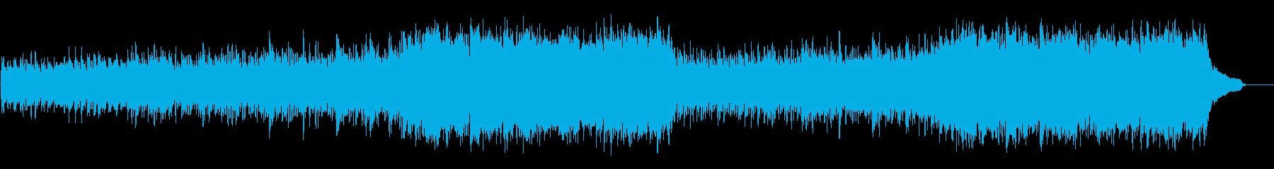 企業VP映像、171オーケストラ、爽快Lの再生済みの波形