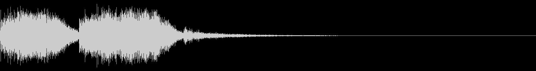 テーレッテレー4/謎が解けた時などの未再生の波形