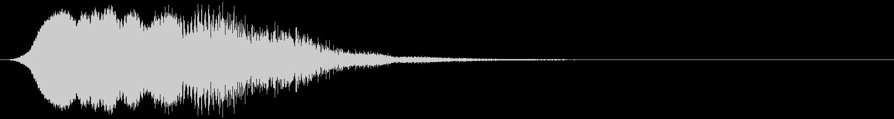 【ホラー】SFX_15 不安がよぎるの未再生の波形