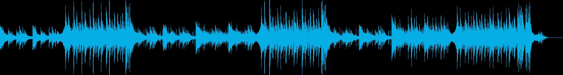和風サスペンス的な映画・映像用BGMの再生済みの波形