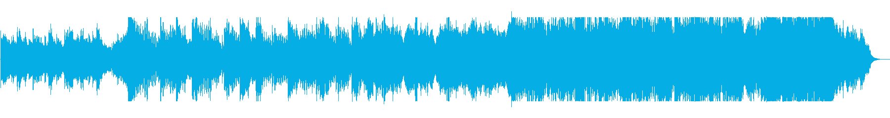 スケール感のある情熱的なピアノ曲の再生済みの波形