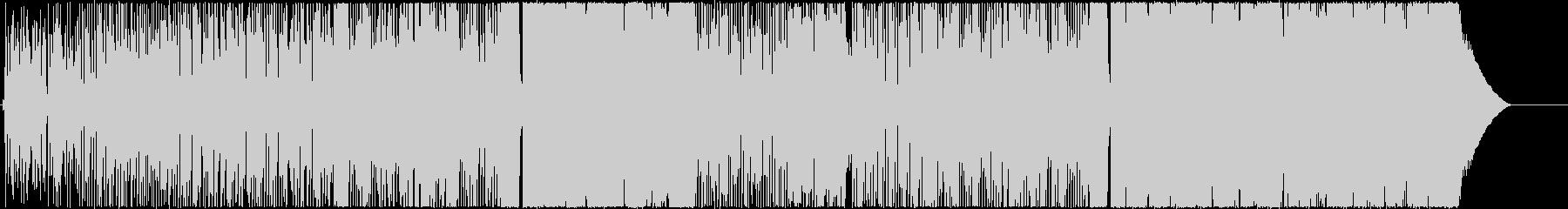 トルコブルーの未再生の波形
