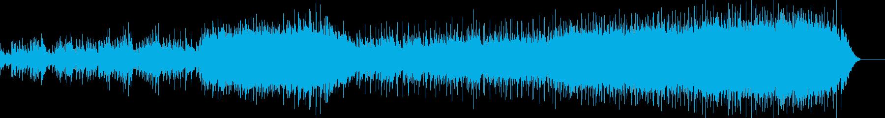 安らかなエンディング向けバラードの再生済みの波形