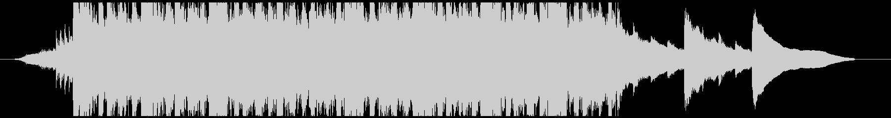環境にやさしい事業紹介のCM曲-30秒の未再生の波形