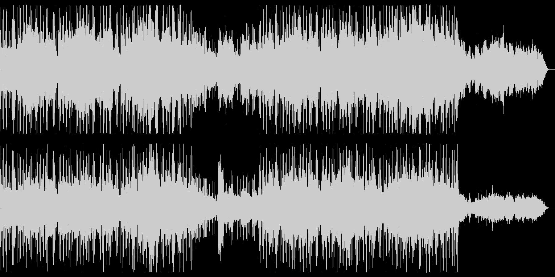 弦楽器とドラムスの壮大ポップスの未再生の波形