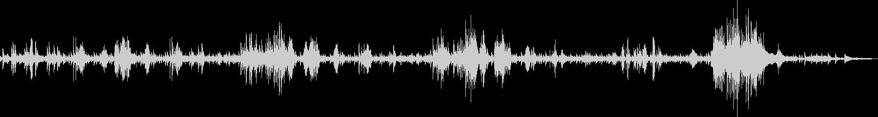 ショパン:ノクターン作品9-2の未再生の波形