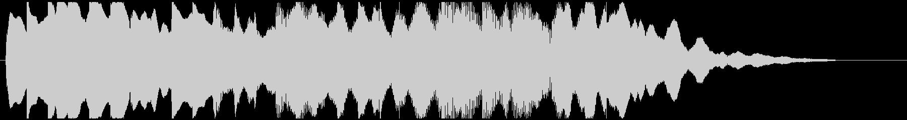 【ジングル/ロゴ】エスニック 鉄琴2の未再生の波形