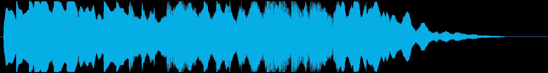 【ジングル/ロゴ】エスニック 鉄琴2の再生済みの波形
