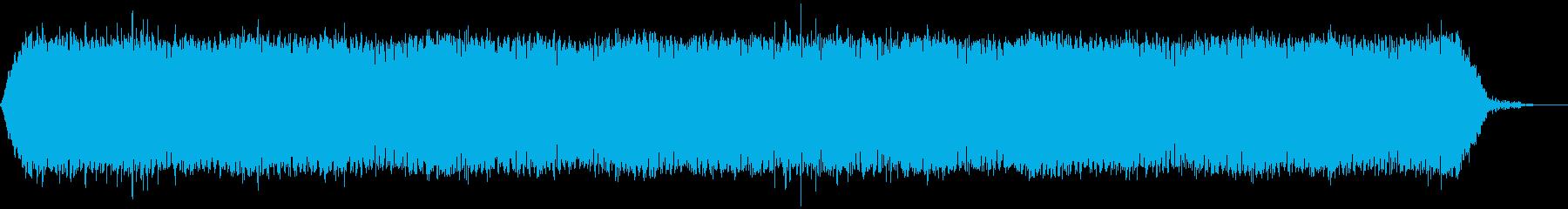 【アンビエント】ドローン_24 実験音の再生済みの波形