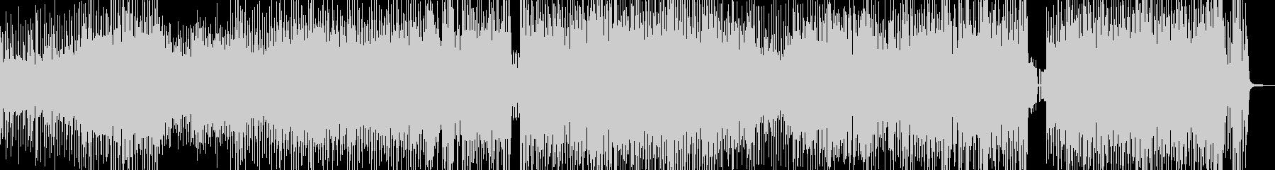 クセになるメロディの三味線テクノ 長尺の未再生の波形