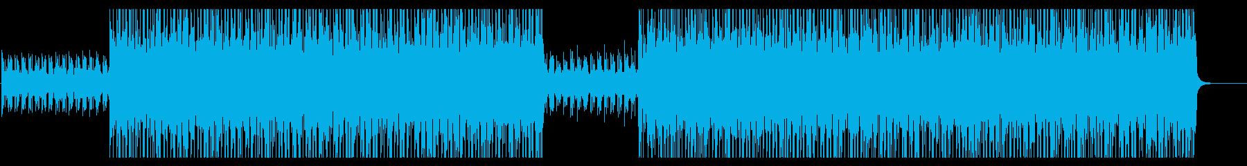 怪しい雰囲気のミディアムテンポのロックの再生済みの波形