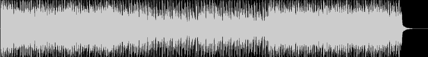 緊迫感のあるストリングス/ビートの未再生の波形