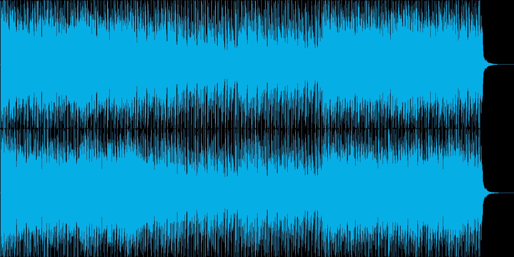 緊迫感のあるストリングス/ビートの再生済みの波形
