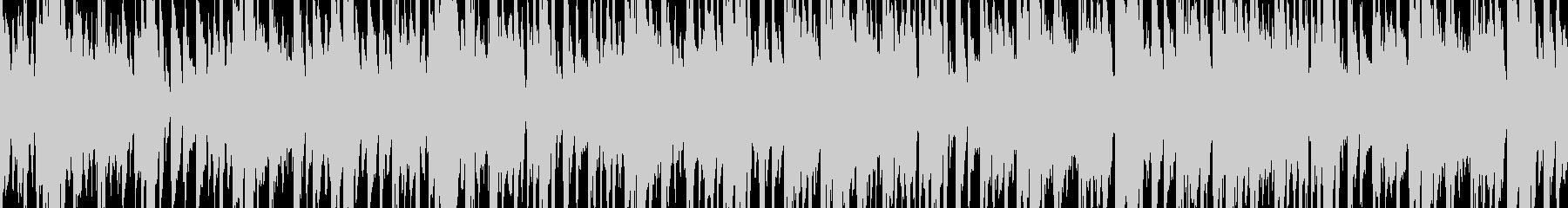 ループ:ロボ感溢れるサイバーパンクな曲の未再生の波形