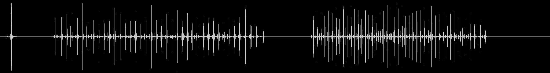 セメント階段の未再生の波形