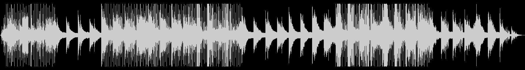 ジャズ寄りのドラムンベースの未再生の波形