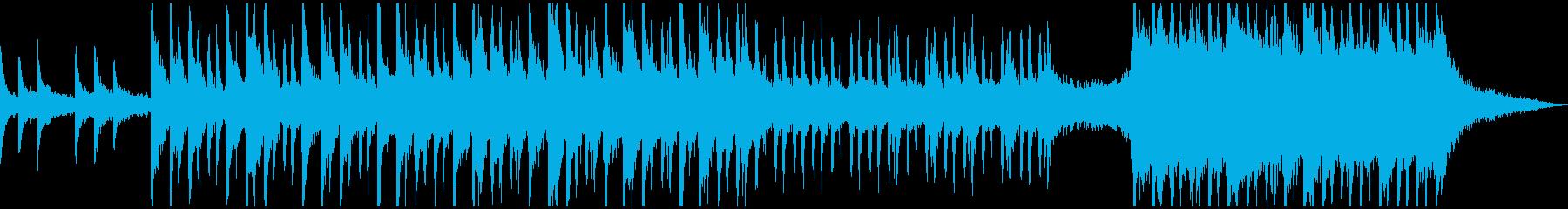 実験的な岩 バックシェイク 広い ...の再生済みの波形