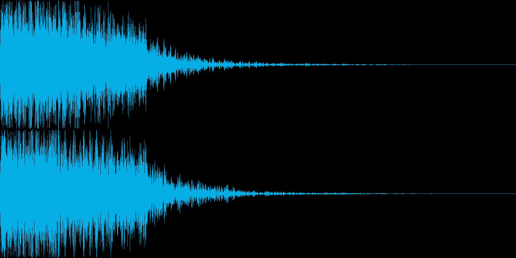 ロボット 合体 ガシーン キュイン 14の再生済みの波形
