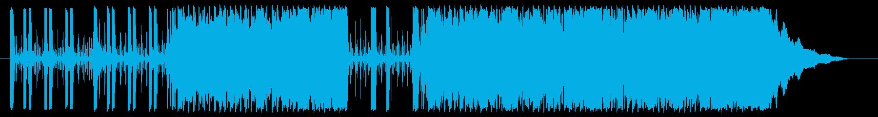 かっこよくておしゃれな響きのメロディーの再生済みの波形