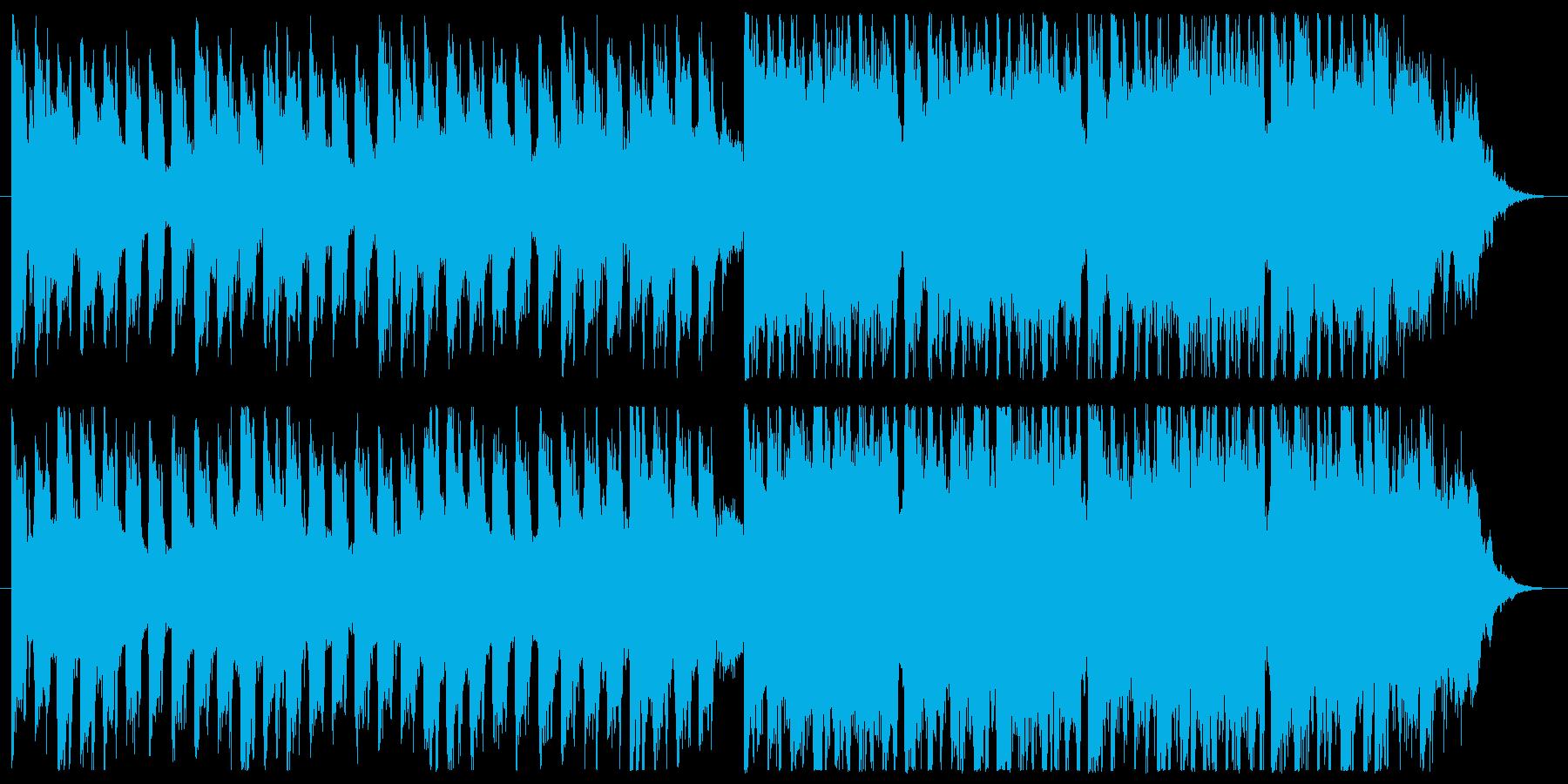 Dance02・爽やか・ピアノ・シンセの再生済みの波形