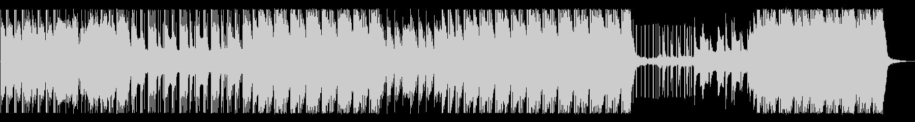 泡が弾けるようなHip-Hop/Beatの未再生の波形