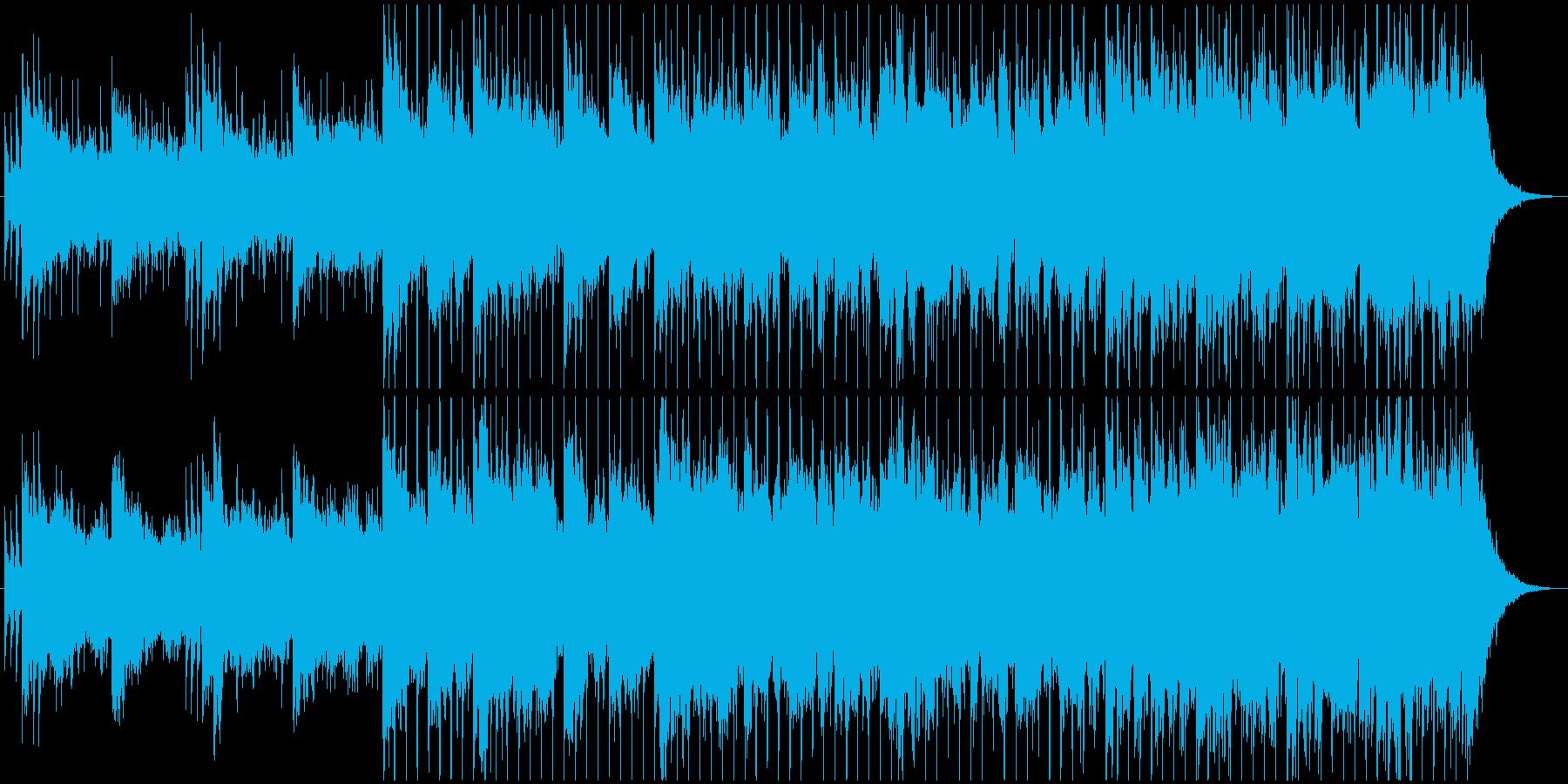 ブレイクビーツ アンビエント アク...の再生済みの波形