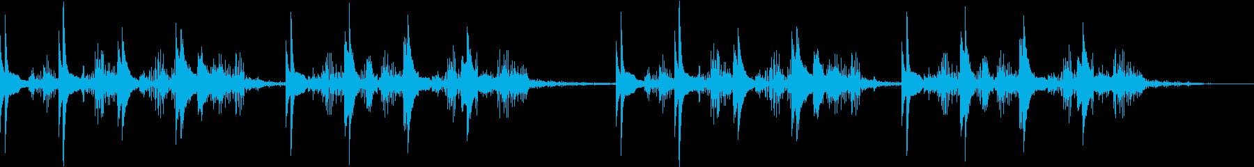 ガラス玉とピアノのBGMです。の再生済みの波形