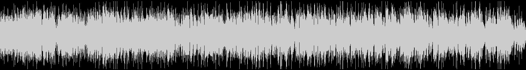 ノリノリなジャズサンバ、南国 ※ループ版の未再生の波形