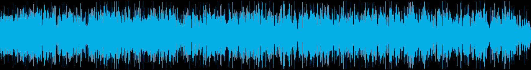 ノリノリなジャズサンバ、南国 ※ループ版の再生済みの波形