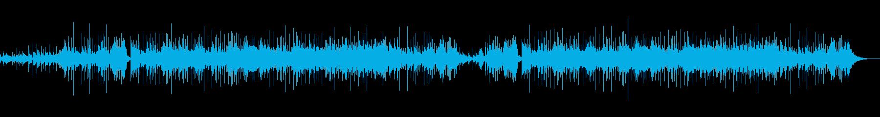 ☆生演奏のアコギメインのさわやかポップの再生済みの波形