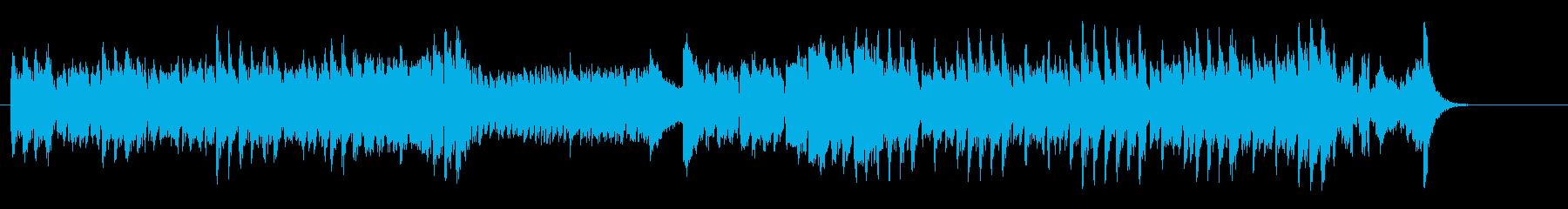 お茶目なスピード・コミカル・サウンドの再生済みの波形