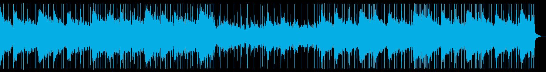 RPGに最適な自然を思わせるポストロックの再生済みの波形