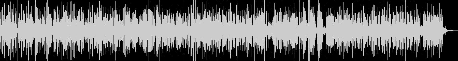 ジャズバイオリンのバラードジングルベルの未再生の波形