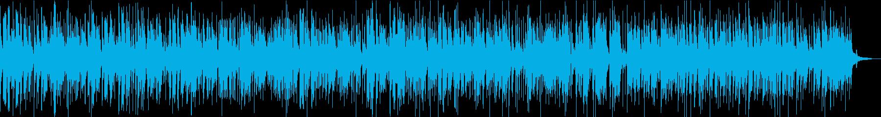 ジャズバイオリンのバラードジングルベルの再生済みの波形